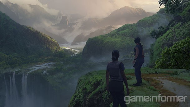 Uncharted The Lost Legacy Exclusive Concept Art Gallery Game