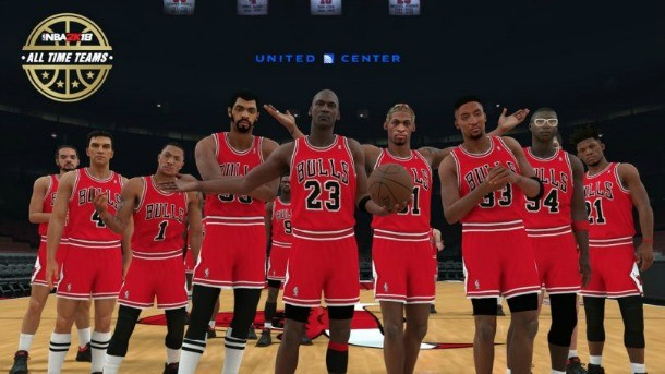 Visual Concepts Reveals NBA 2K18 All-Time Rosters For Each