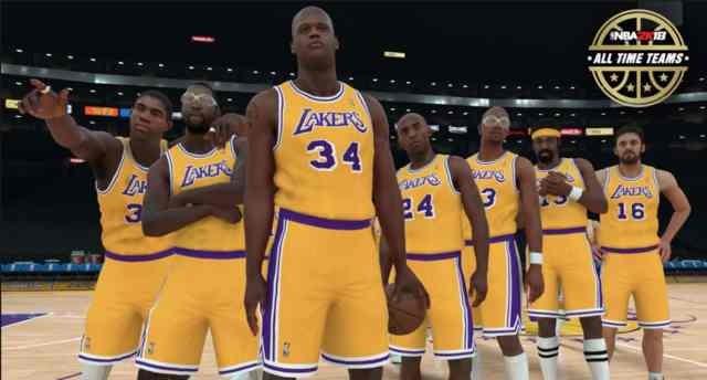 Los Angeles Lakers Magic Johnson – 99. Jerry West – 97. Kobe Bryant – 98.  Kareem Abdul-Jabbar – 96. Shaquille O Neal – 98. Elgin Baylor – 96 9e38abc5c