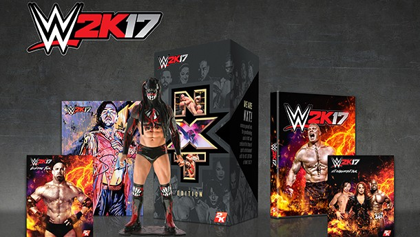 WWE 2K17 Collector's Edition Comes With Finn Balor Figure
