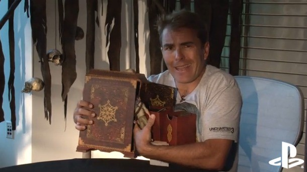 Watch Nolan North Unbox Uncharted 3 S Collector S Edition Game
