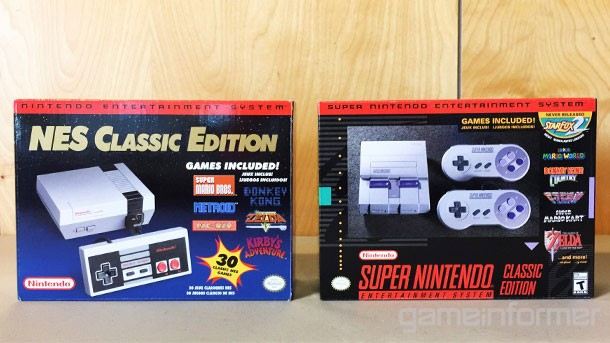 We Get Up-Close With The SNES Classic Edition - Game Informer