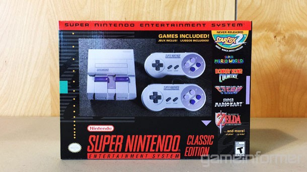 We Get Up Close With The Snes Classic Edition Game Informer