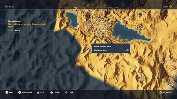 Where To Find All 12 Stone Circles In Assassin S Creed Origins