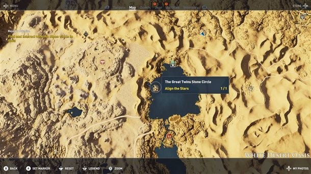Where To Find All 12 Stone Circles In Assassin S Creed Origins Game Informer