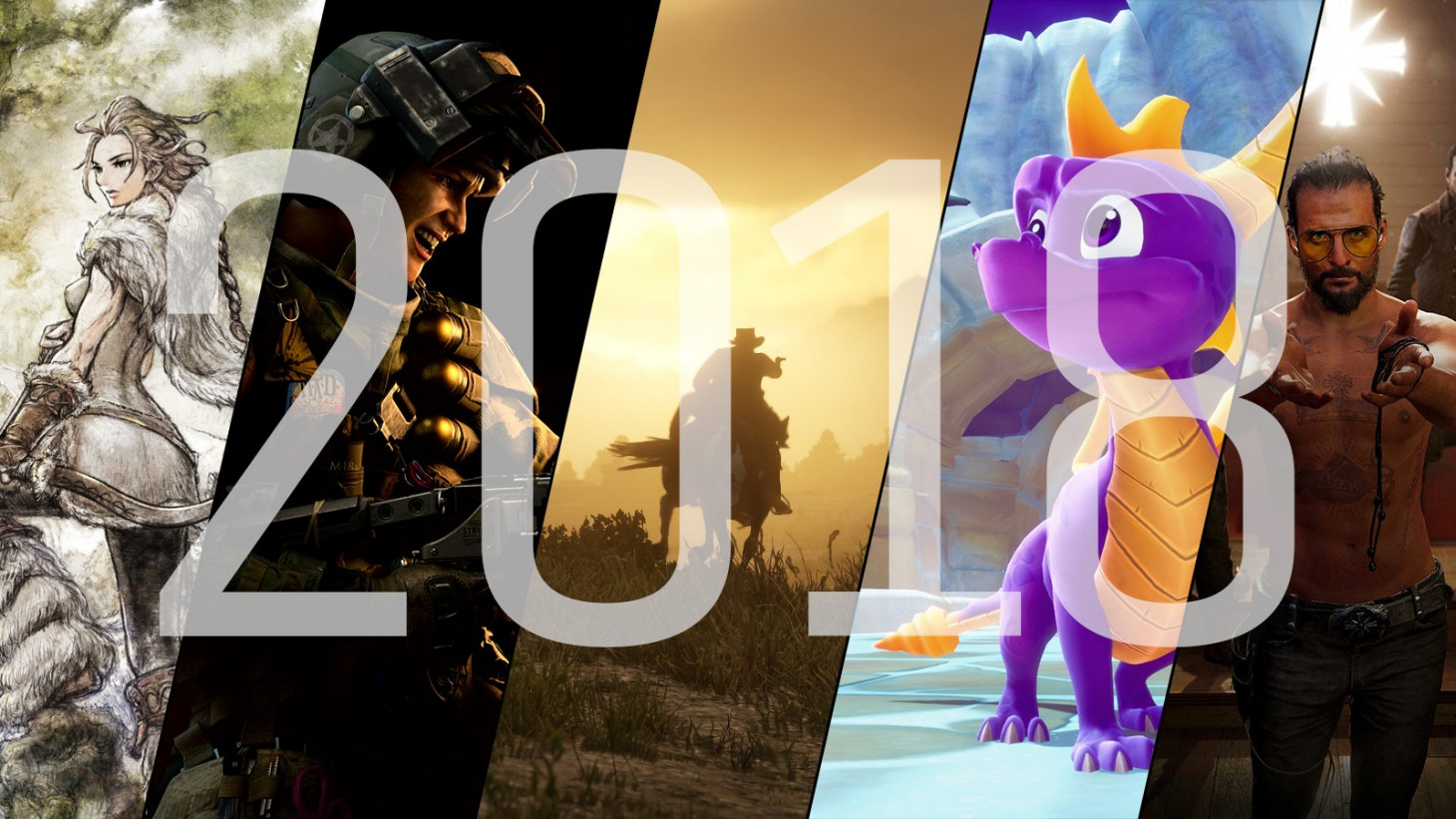 2018 Video Game Releases