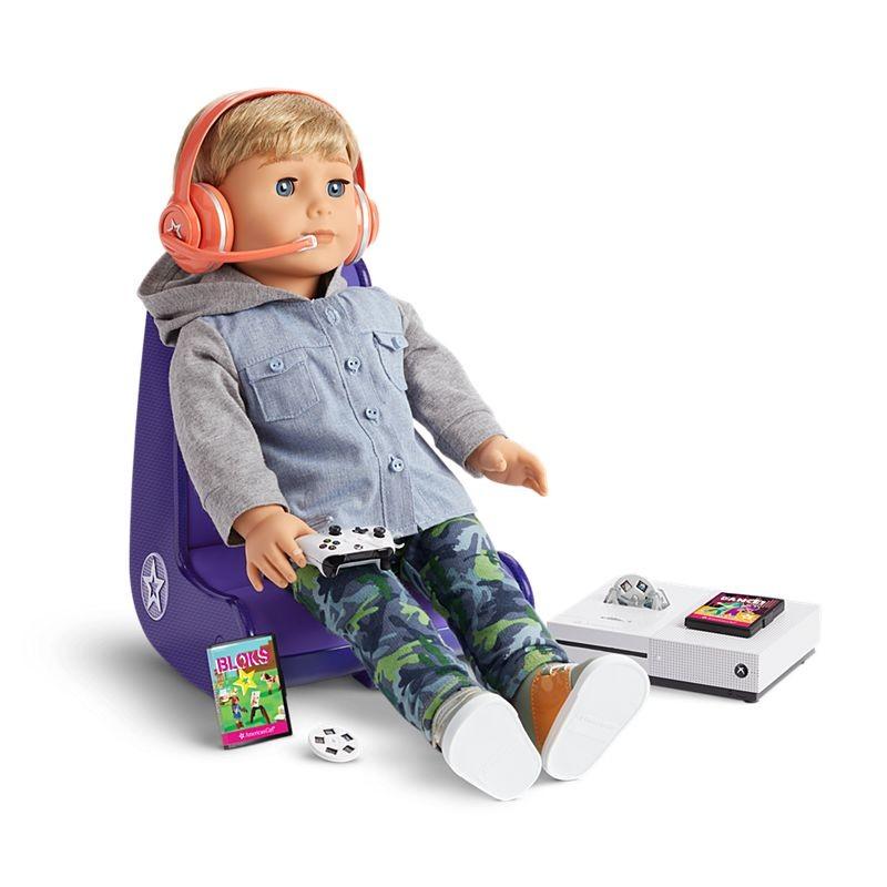 American Girl Doll Gamer Set