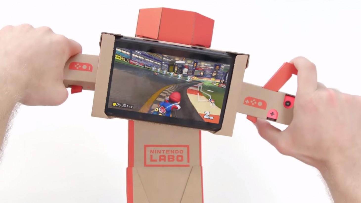 Mario Kart 8 With Nintendo Labo