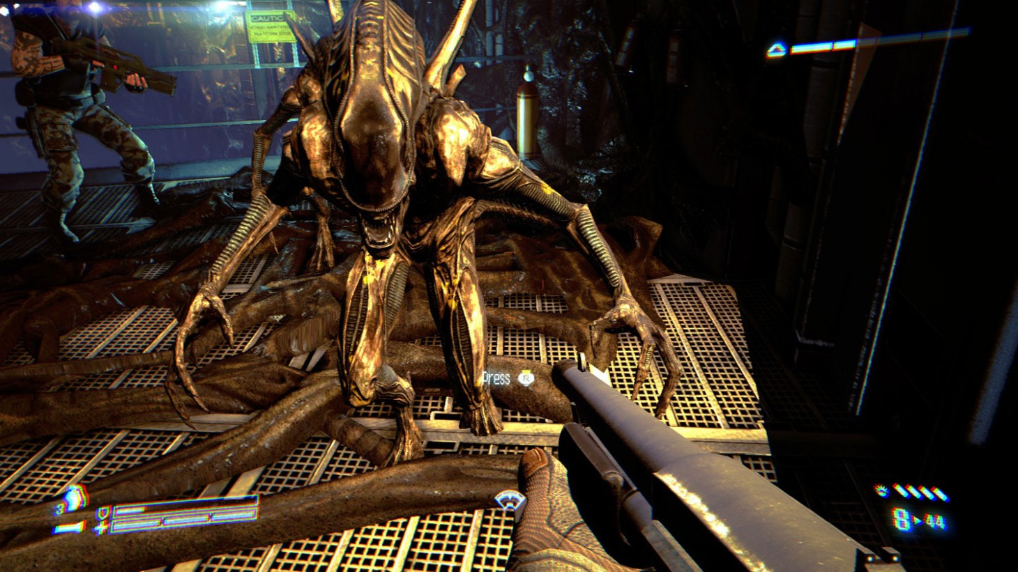 Xenos In Aliens: Colonial Marines De-lobotomized By Fixing A Typo - Game  Informer