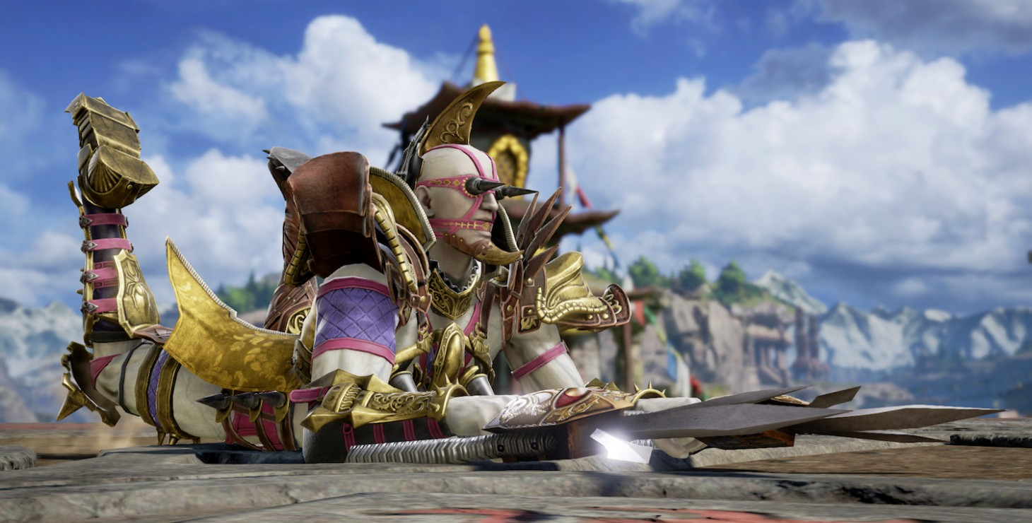 Voldo in Soulcalibur VI