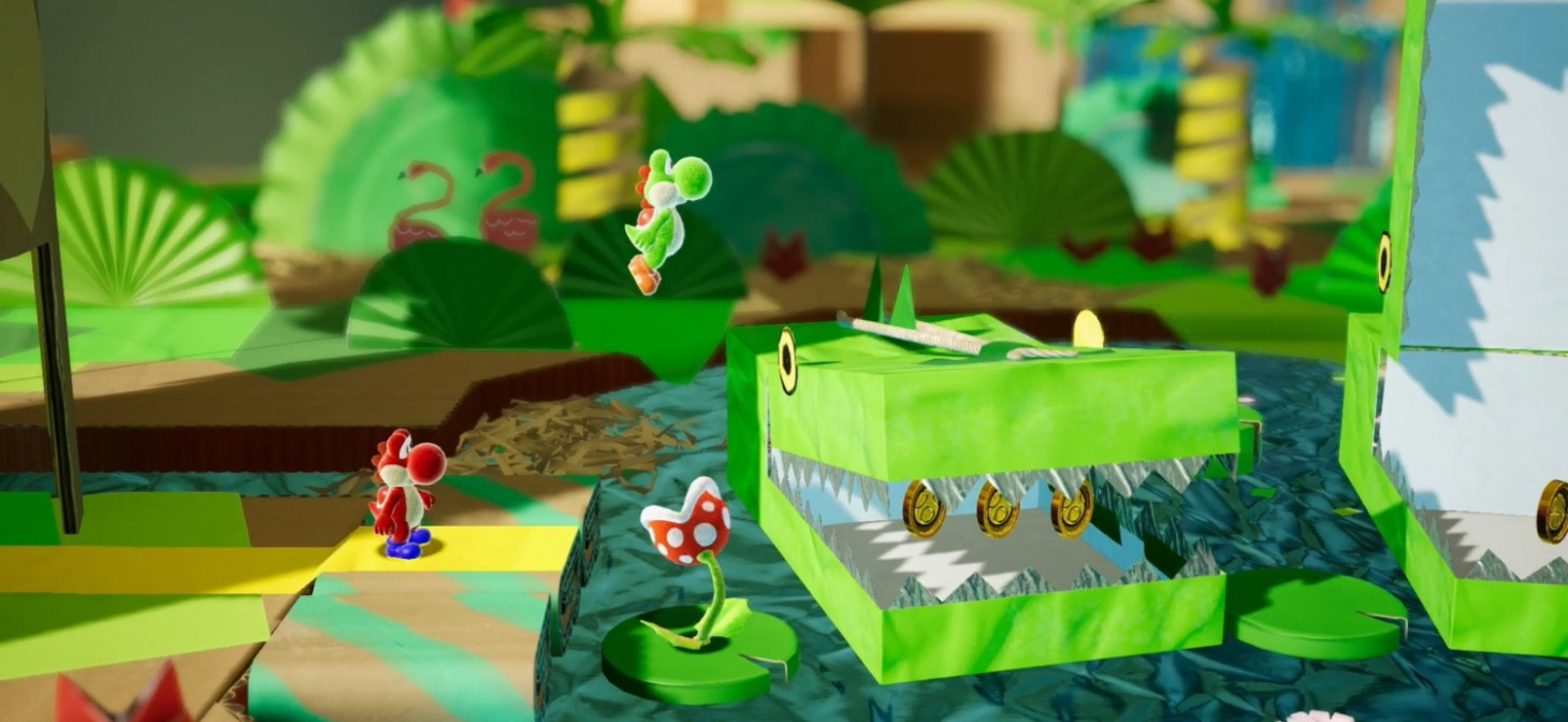 Yoshi Switch To Be Called Crafted World