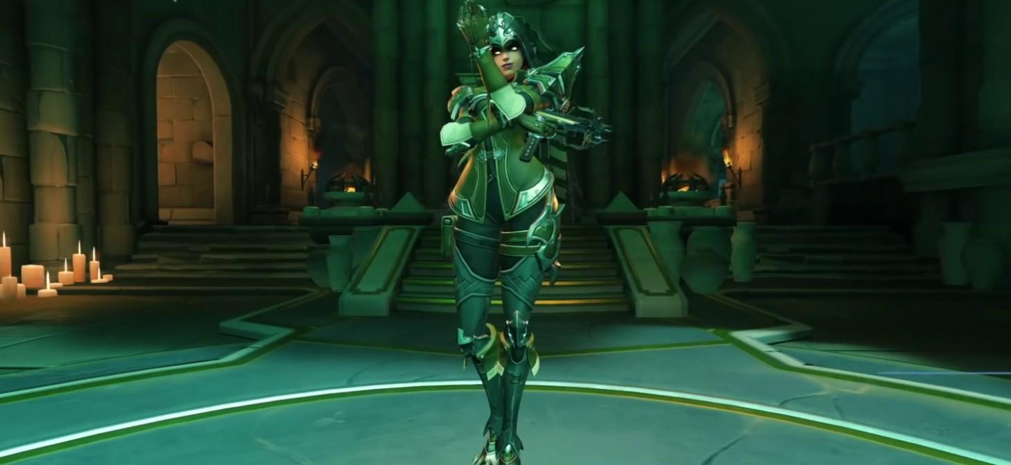 Sombra as Demon Hunter