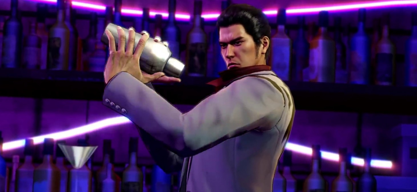 Kazuma Kiryu in Fist of the Northstar: Lost Paradise