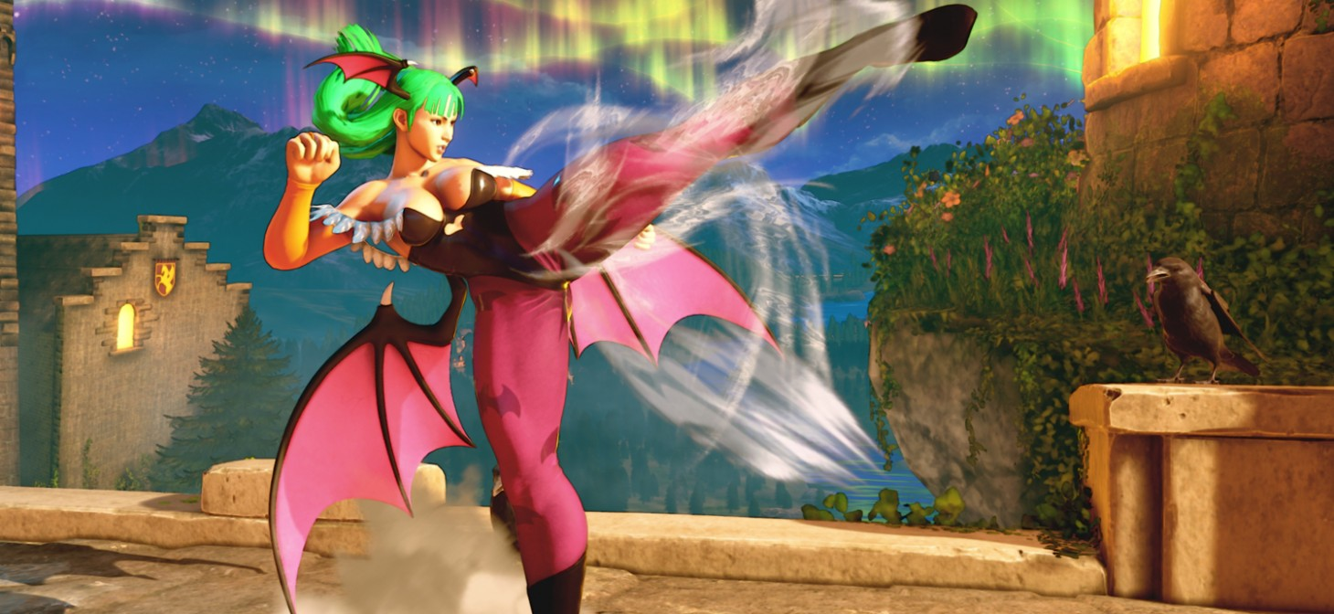 Darkstalkers in Street Fighter V