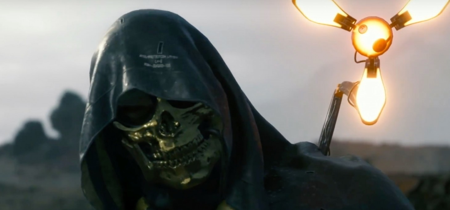 New death stranding trailer introduces troy bakers character game new death stranding trailer introduces troy bakers character game informer aloadofball Gallery