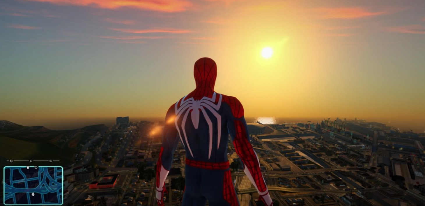 This Mod Brings Insomniac's Spider-Man To GTA San Andreas