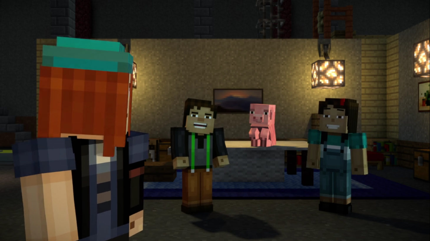 Minecraft Story Mode Launches On Netflix Game Informer