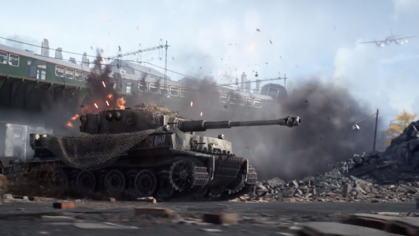 This Week's Battlefield V Content Drop Brings In The Heavy Tanks
