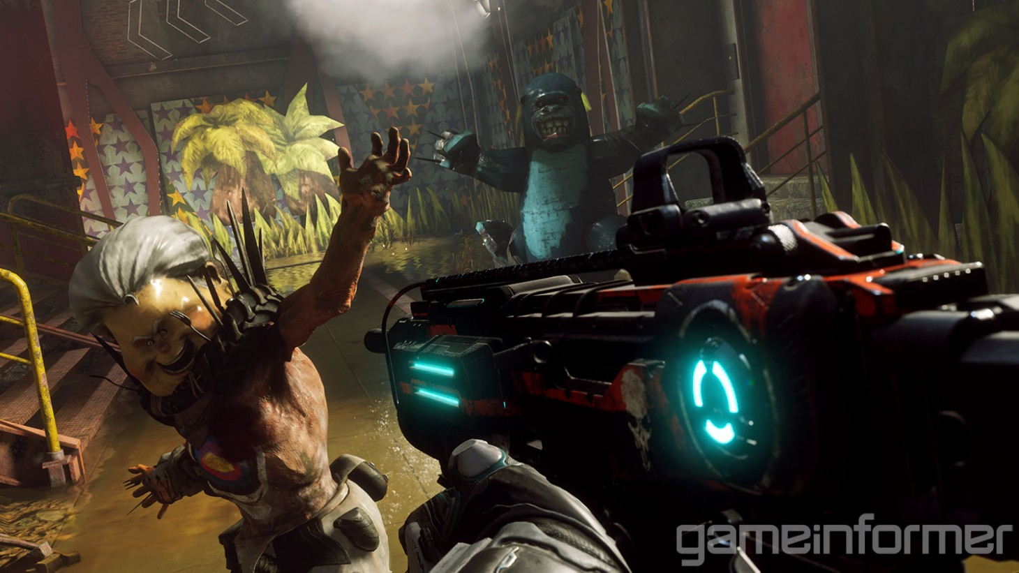 how rage 2 rewards those who have played the first game game informer