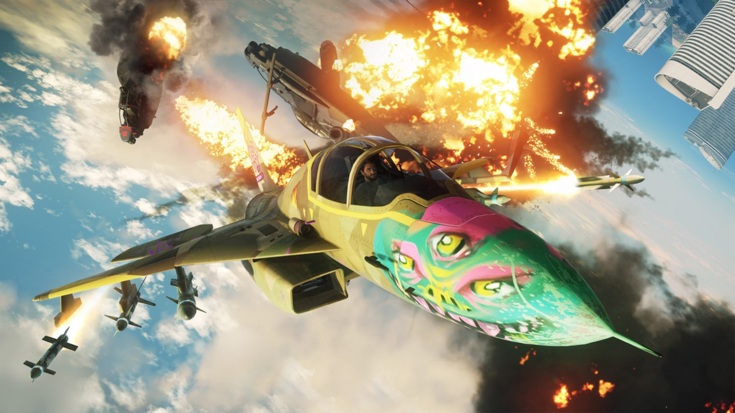 Just Cause 4 Review \u2013 An Explosive Sandbox Of Possibilities - Game