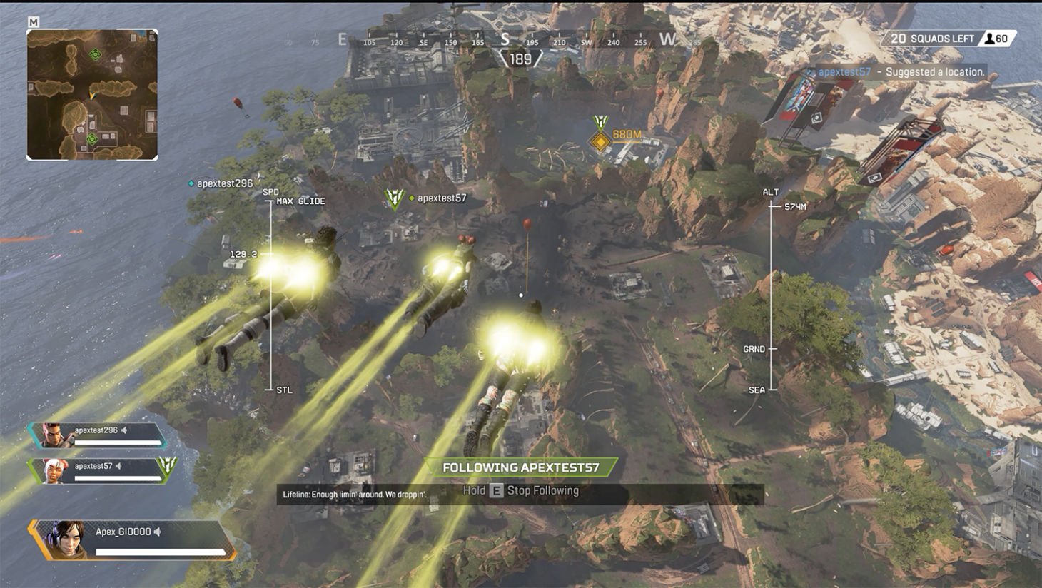 Apex Legends Racks Up 1 Million Players In 8 Hours Outlines Content