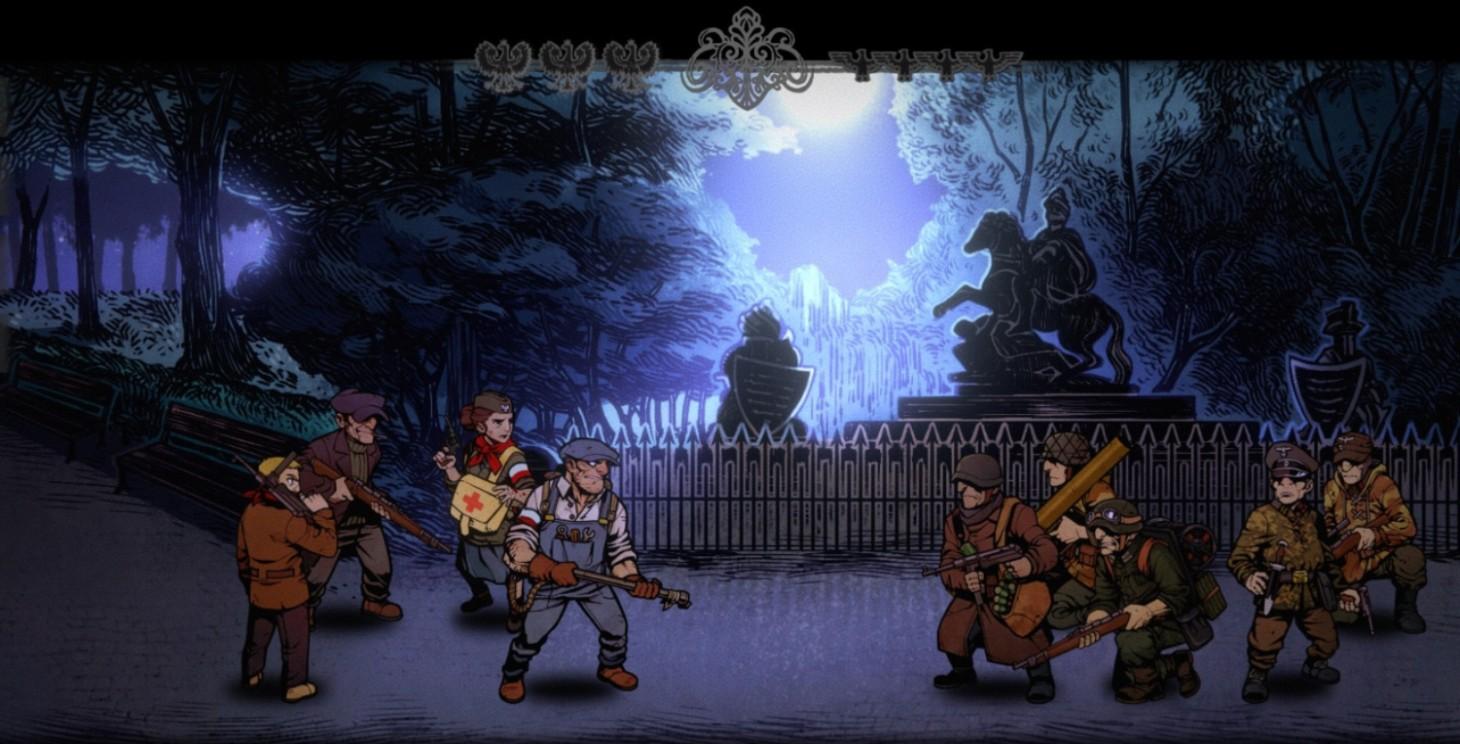 World War II Tactical RPG Warsaw Channels Darkest Dungeon - Game