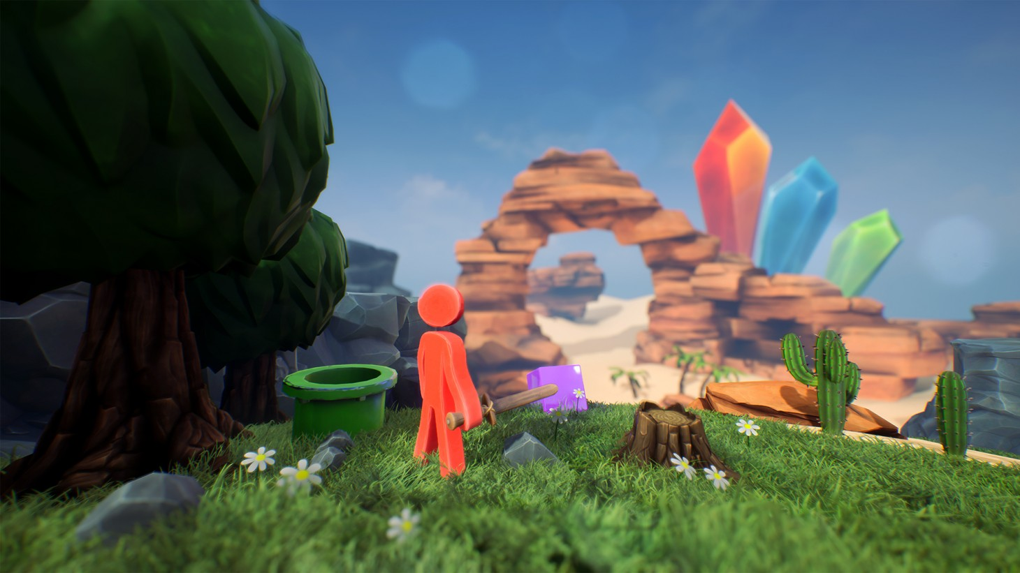 supraland review  guy big world great puzzles game informer