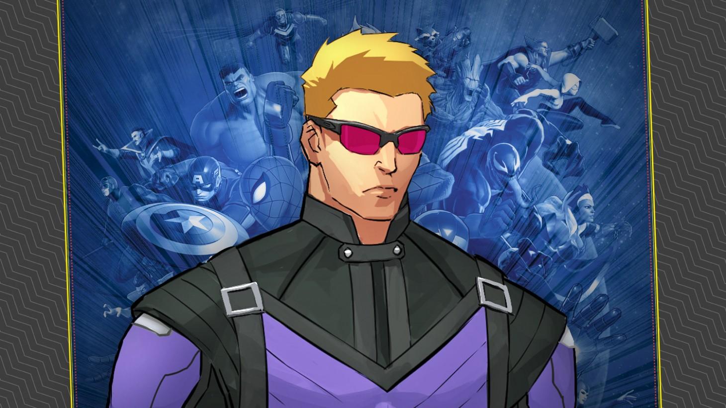 Exclusive Hawkeye Gameplay Details In Marvel Ultimate