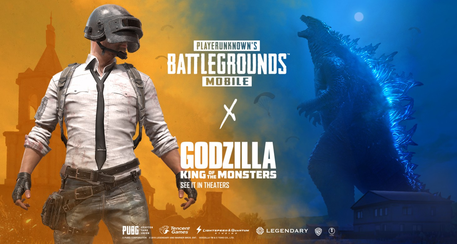 Giveaway: PUBG MOBILE Godzilla: King of the Monsters [CLOSED] - Game