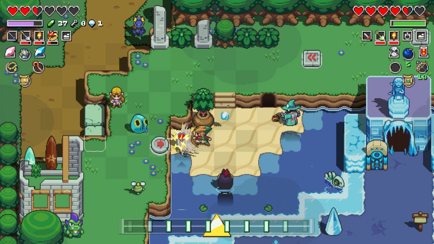 Cadence Of Hyrule Review A Pleasant But Discordant Melody Game Informer
