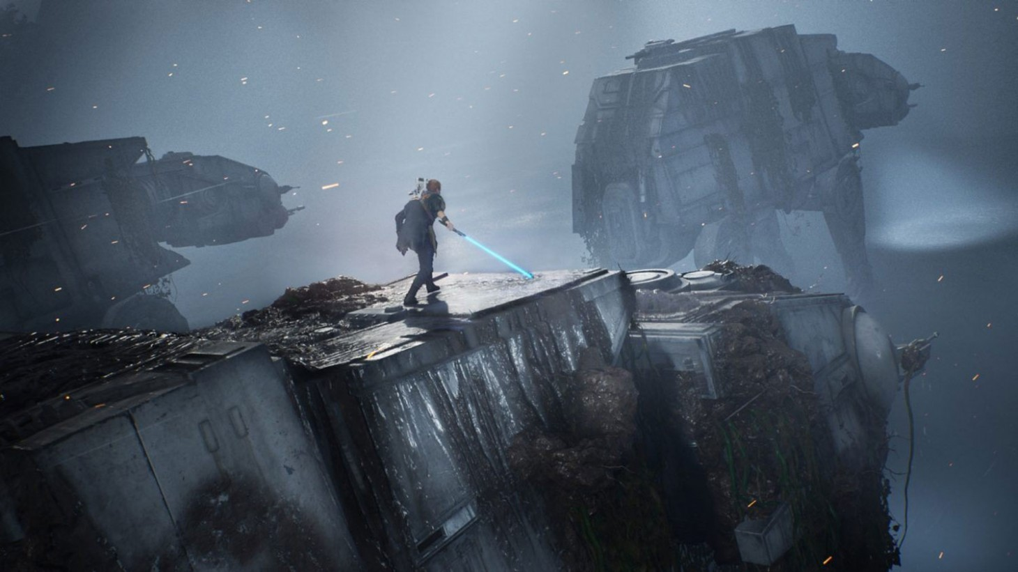 Respawn Talks Building AT-ATs And Creating Lightsabers For Star Wars Jedi:  Fallen Order - Game Informer