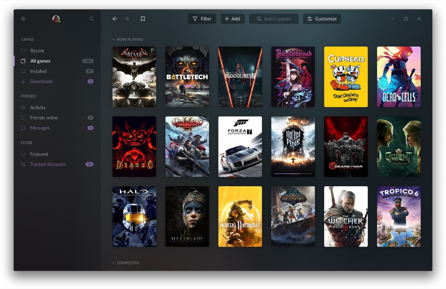 GOG Galaxy 2 0 States Its Case To Be Your One PC Library To Rule
