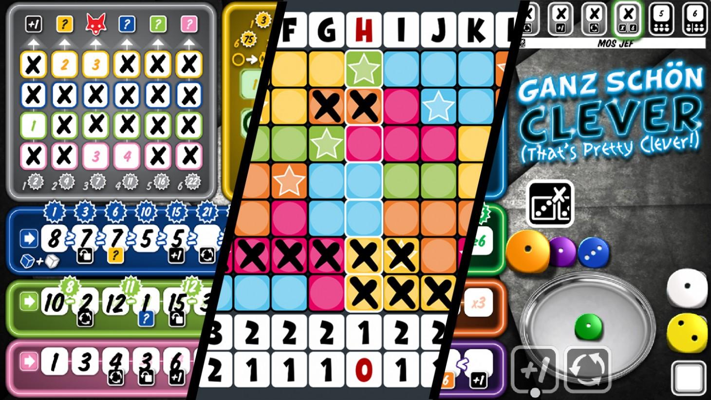 Digital board game spotlight, three rad roll and write games