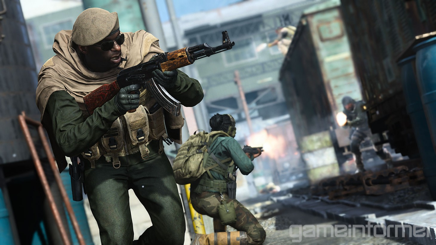 Gearing Up For Ground War In Call of Duty: Modern Warfare