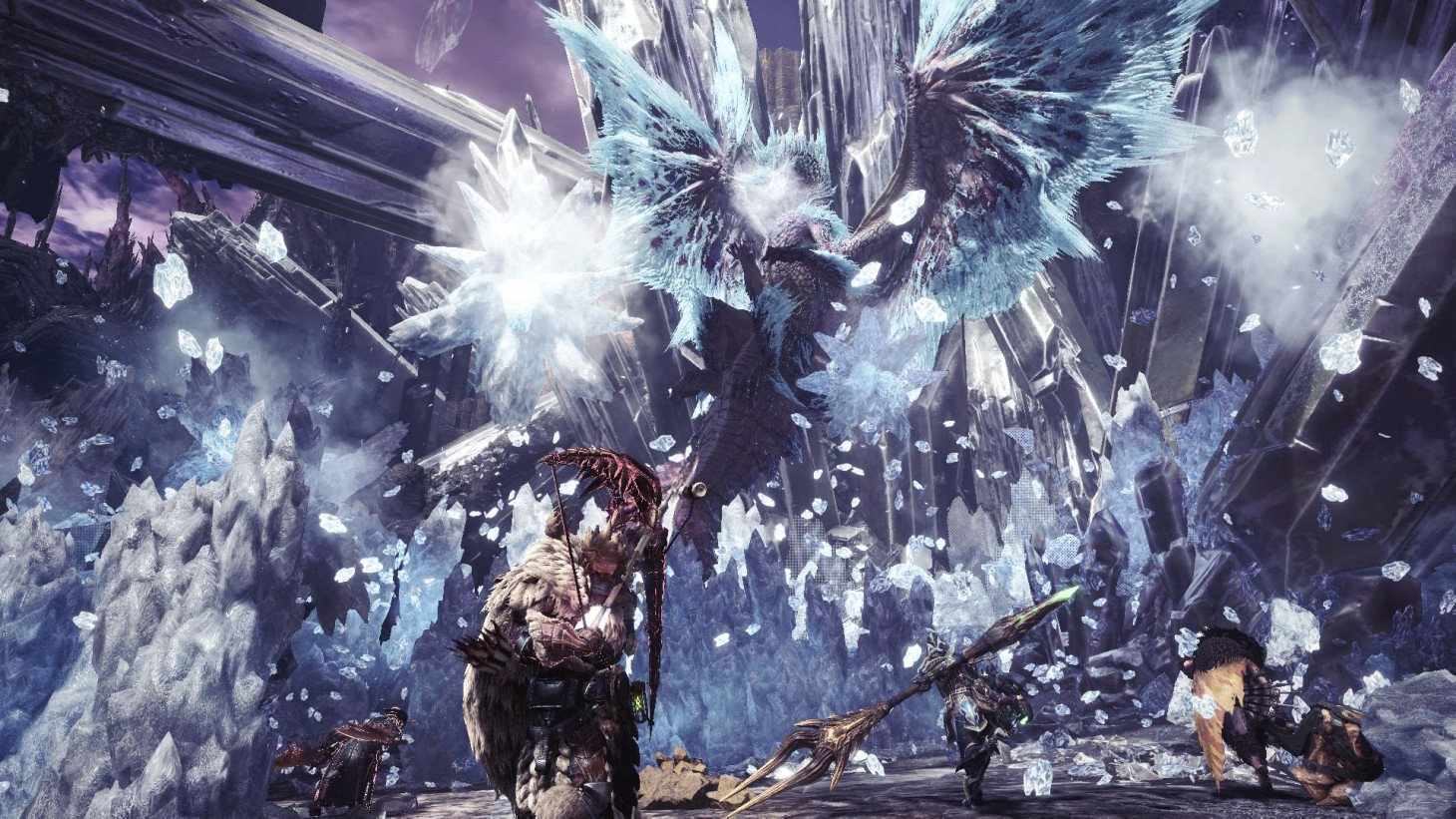 Monster Hunter World Iceborne Review Tough Challenges In The Bitter Cold Game Informer Easy boss no death and didnt even use potion xd. monster hunter world iceborne review