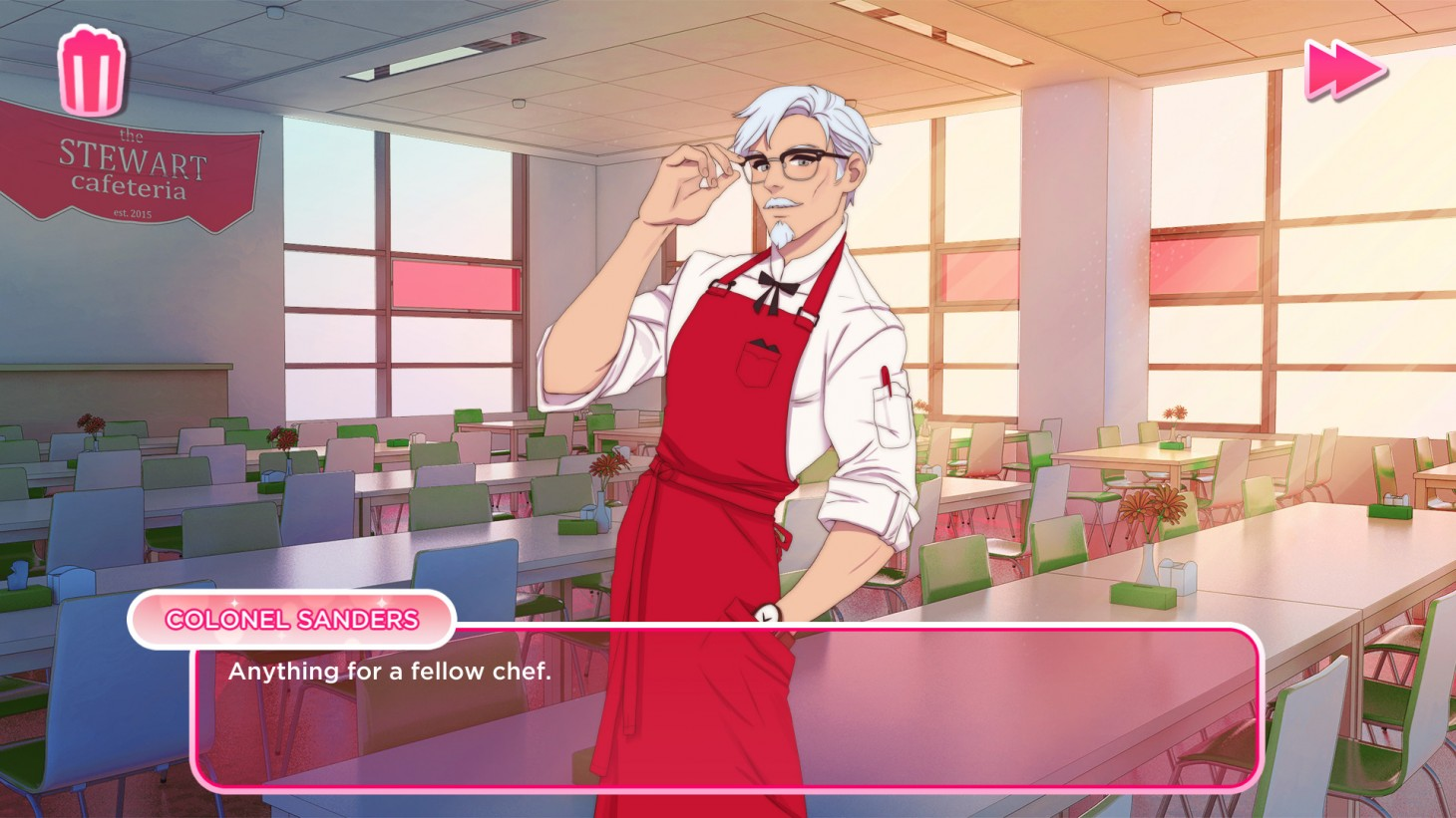 KFC Is Making A Game Where You Can Date Colonel Sanders