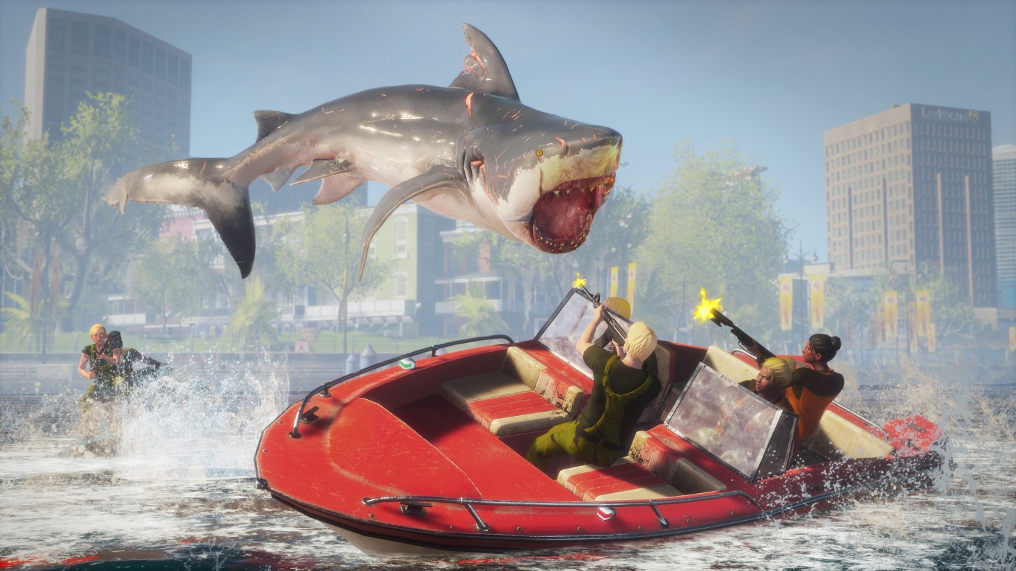 Maneater Review – King Of The Sea - Game Informer