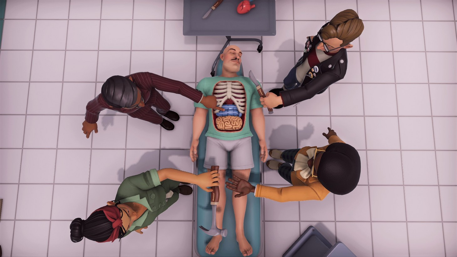 Surgeon Simulator 2 Let S You Commit Braindead Surgery Game Informer