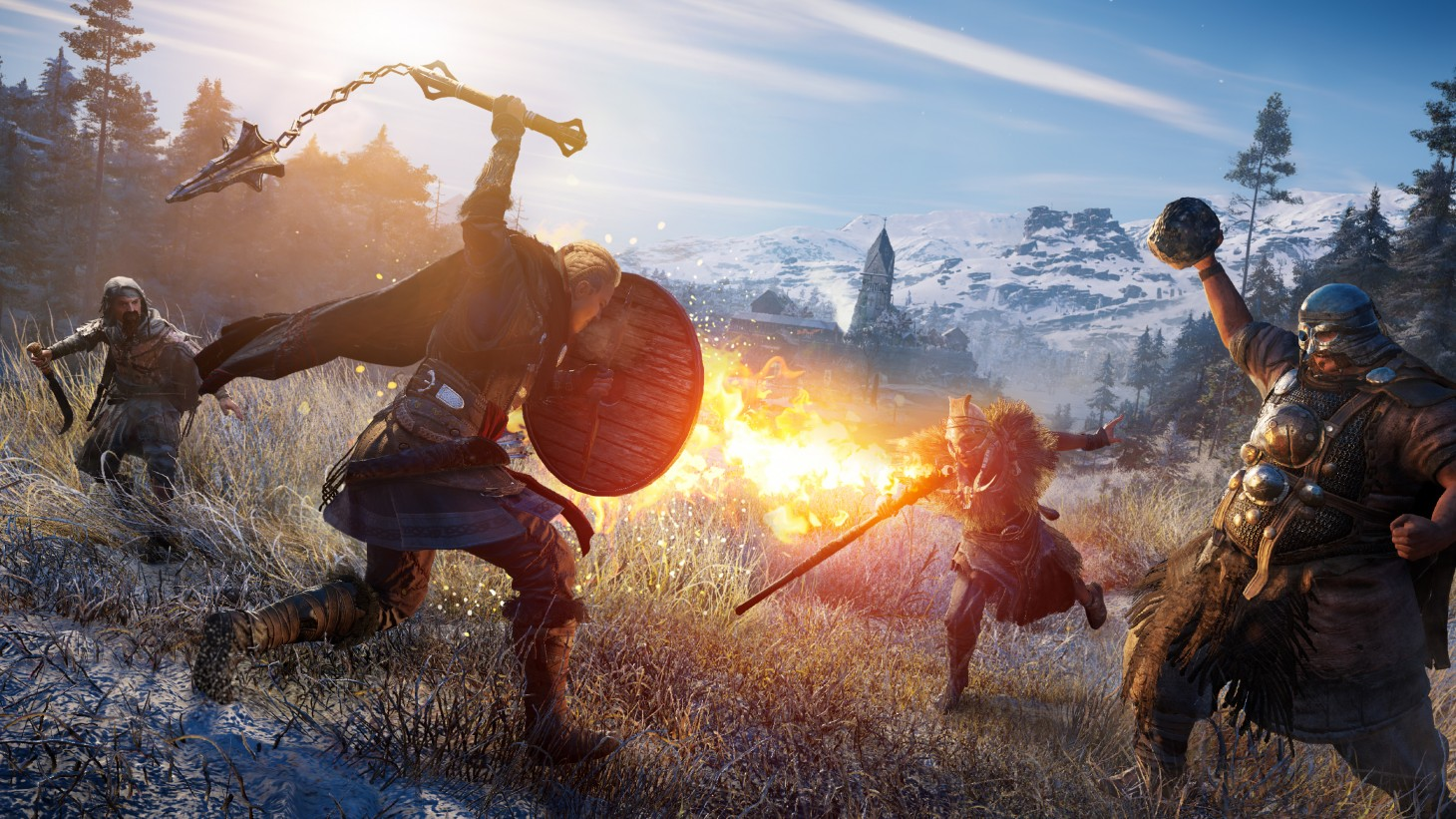 Over Five Hours With Assassin S Creed Valhalla Game Informer