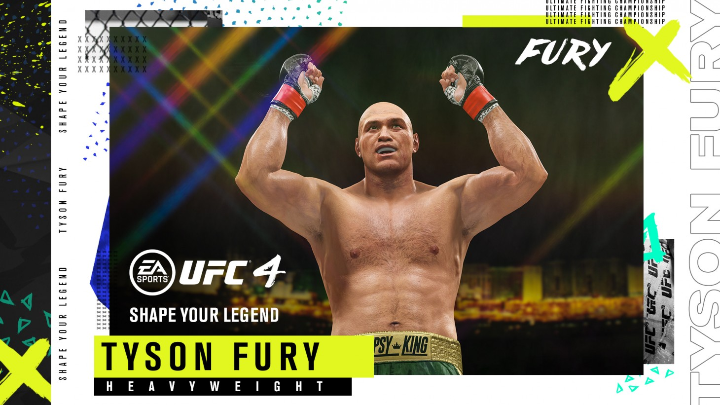 Heavyweight Boxing Champions Tyson Fury And Anthony Joshua Are Ea Sports Ufc 4 Pre Order Bonuses Game Informer