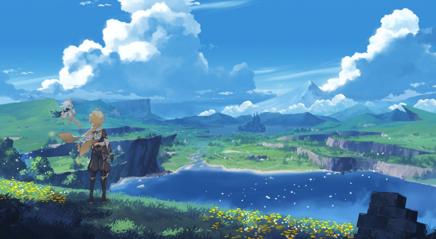 """Genshin Impact Devs Say Zelda: Breath Of The Wild Was A Big Inspiration,  But Their Game Is """"Very Different"""" - Game Informer"""