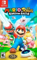Mario + Rabbids Kingdom Battle cover