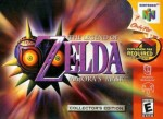 The Legend of Zelda: Majora's Mask cover