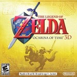 The Legend of Zelda: Ocarina of Time 3D cover