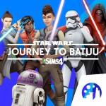 The Sims 4 Star Wars: Journey to Batuu Game Packcover