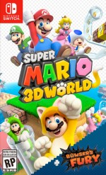 Super Mario 3D World + Bowser's Furycover