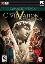 Civilization V: Gods & Kings cover