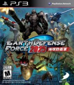 Earth Defense Force 2025cover