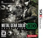 Metal Gear Solid: Snake Eater 3Dcover