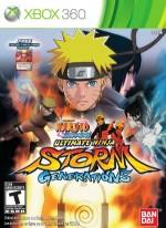 Naruto Shippuden: Ultimate Ninja Storm Generations cover